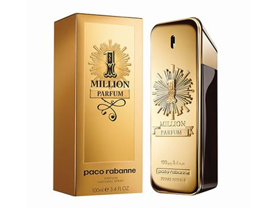 Paco Rabanne 1 Million perfum edp 100ml - פאקו רבאן וואן מיליון פרפיום אדפ 100 מ''ל לגבר